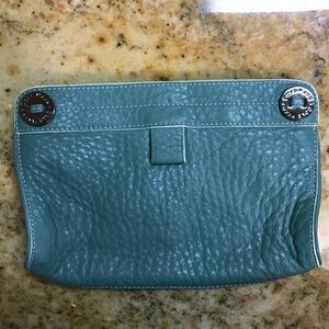 Cole Haan leather cosmetic bag
